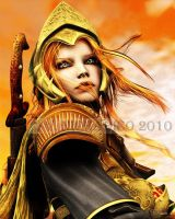 The Golden Champion by vaia