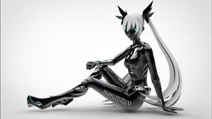 . : Carbon Miku : . by s-h-u-r-e-i