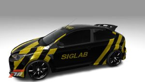 SIGLABS Ford Focus RS 2 by BiffTech
