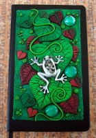 Custom Leaf Frog Book by MandarinMoon