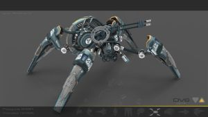 Spider Drone V6 by Iggy-design