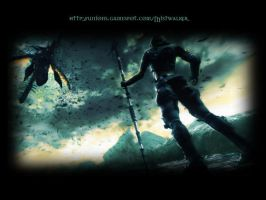 Lost Odyssey wallpaper - Kaim2 by JAGrogue