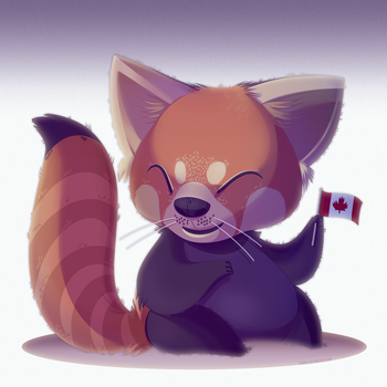 Red Panda by zombie