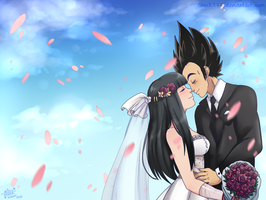 I married a Saiyan-commission by shock777