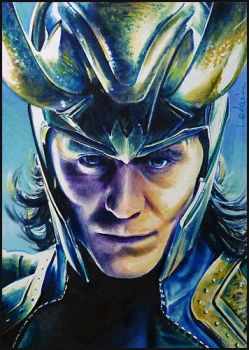 God Of Mischief by DavidDeb