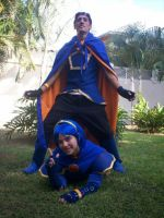 Marth y Roy cosplay - Fire Emblem style XD by MarthLowell94