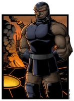 Darkseid Color by TPollockJR