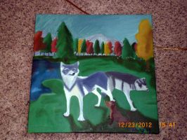Timber Wolves by Lily-Hith-Silme