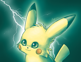 Pikachuuu by entadeath