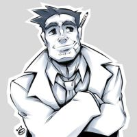 Just some Gumshoe doodle by zillabean