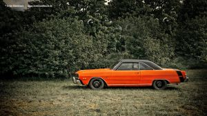 1975 Dodge Dart Side by AmericanMuscle