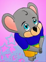 Cute Chuck E Cheese by CharonTheSabercat