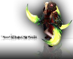 Blood Elf Rogue - Big Pimpin by oaph