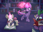 Book Ponies by PonyGoggles