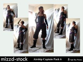 Pirates-Airship Captain Pack6 by mizzd-stock