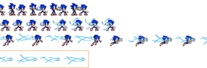 Sonic Rasengan sprites by MyPicts