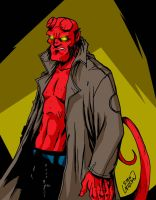 Hellboy by channandeller