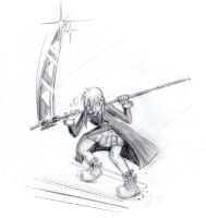 Some trials of poses of fight1 by Shanleigh-Owin