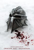 Dragon Age Inquisition Helmet - Snow II by SKSProps