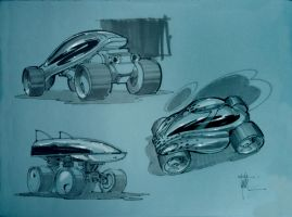 Future Race Cars by Eyth