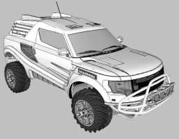 Ford Raptor tuning by MRock91
