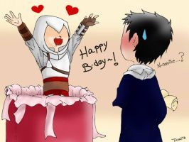 Happy birthday, Malik! by TashitaDissidia