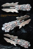 The Draconian Plasma Cannon 03 by Uratz-Studios