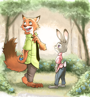 Zootopia Fan Art by KeungLee