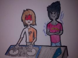 Ed and Thunder- Noisia by Ask-Edwin