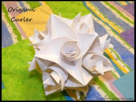 Origami Curler by c1a2t345