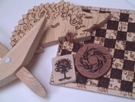 Pyrography Collection by shade-of-wolf