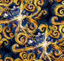 Looking for an exploding TARDIS [wallpaper] by the-zilla