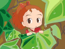 Arrietty Chibi by RockuSocku