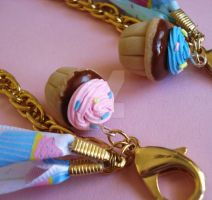 Birthday Cupcake Bag Charm 2 by FatallyFeminine