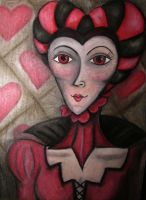 My Queen Of Hearts by jaded-ink