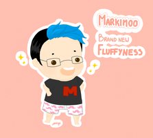 MARKIMOO BLUE FLUFFYNESS by Leticiahtk