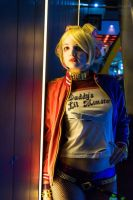50s Suicide Squad Harley by GagaAlienQueen