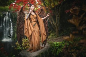 Maleficent with Wings - Cosplay by emilyrosa