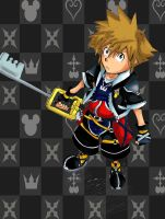 Sora from Kingdom Hearts II by SaraMangaka