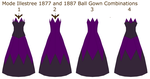 Victorian Ball Gowns by CeshionCo