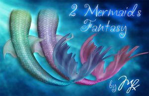 Mermaids Fantasy PNG by Maryneim