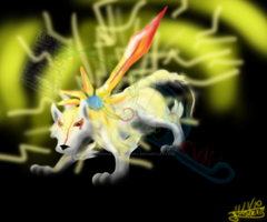 Ammy-Thunder Edge -critique- by trippinxtremezebra