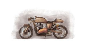 Lady Killa' Cafe Racer by primayoga