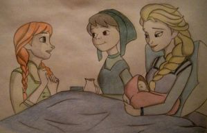 The Birth of the Princess by himymRobinStinson