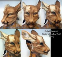 Piebald Doe Mask by Magpieb0nes