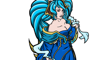 League Of Legends Sona by ChaosBloodLust