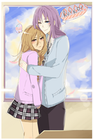 you realise i have to stand on my tiptoes by hana-e