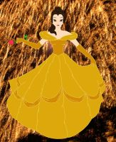Belle Colored by AreteEirene