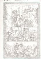 Black Label - Page 1 - Pencils by The-Real-NComics