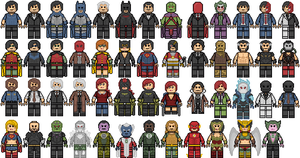 DC Comics Characters by Doomsday71